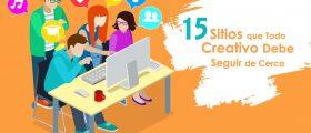 15 Sitios que Todo Creativo Debe Seguir de Cerca